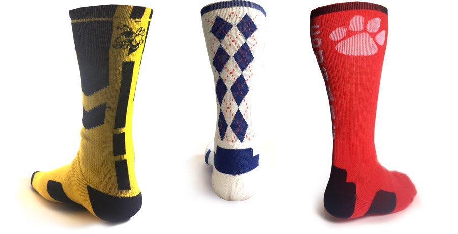 Custom Knit Elite Sock Designs